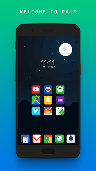 RAUN Icons Screenshot Image