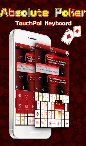 TouchPal Absolute Poker Theme
