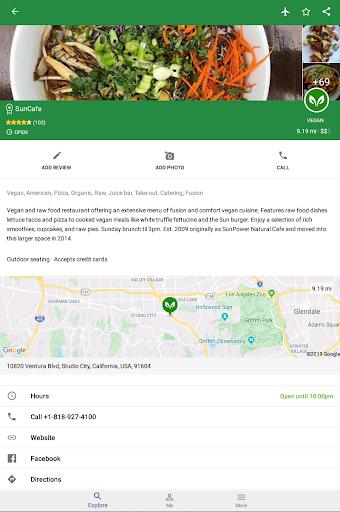 Find Vegan Restaurants & Vegetarian Food- HappyCow 62.0.26-free-v2 screenshots 22