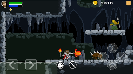 Aldred knight  2D pixel art platform adventure 1.0.711 de.gamequotes.net 2
