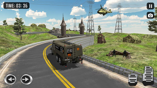 Off Road Army Truck Driving Game  screenshots 1