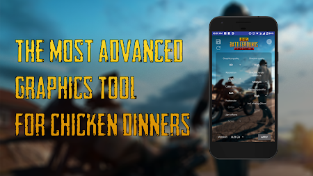 Battlegrounds Advanced Graphics Tool APK screenshot thumbnail 1