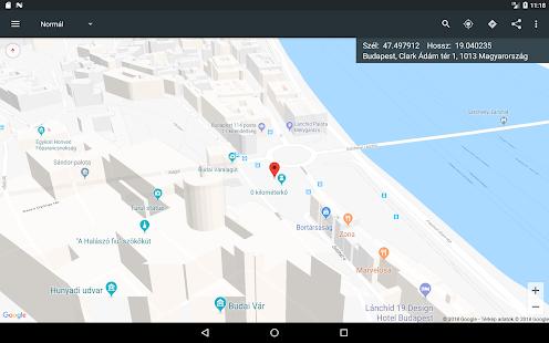 budapest térkép távolságmérés Térkép koordinátákkal – Alkalmazások a Google Playen budapest térkép távolságmérés