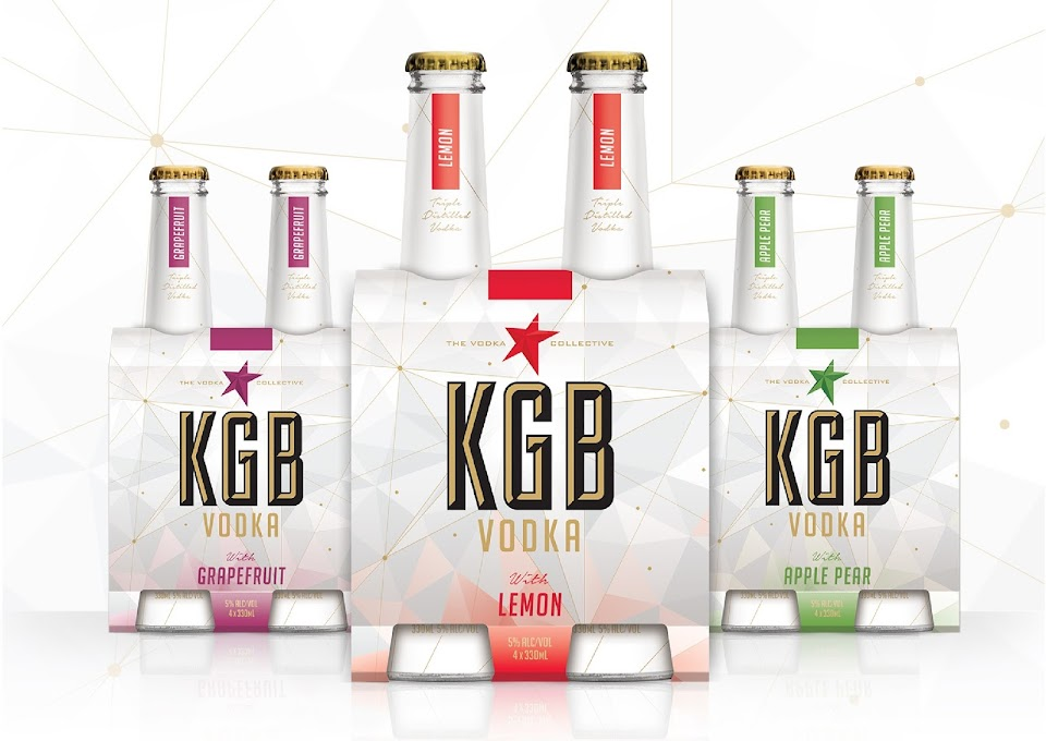 kgb vodka packaging of the world