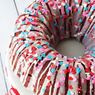 Red Velvet Cheesecake Bundt Cake Recipe