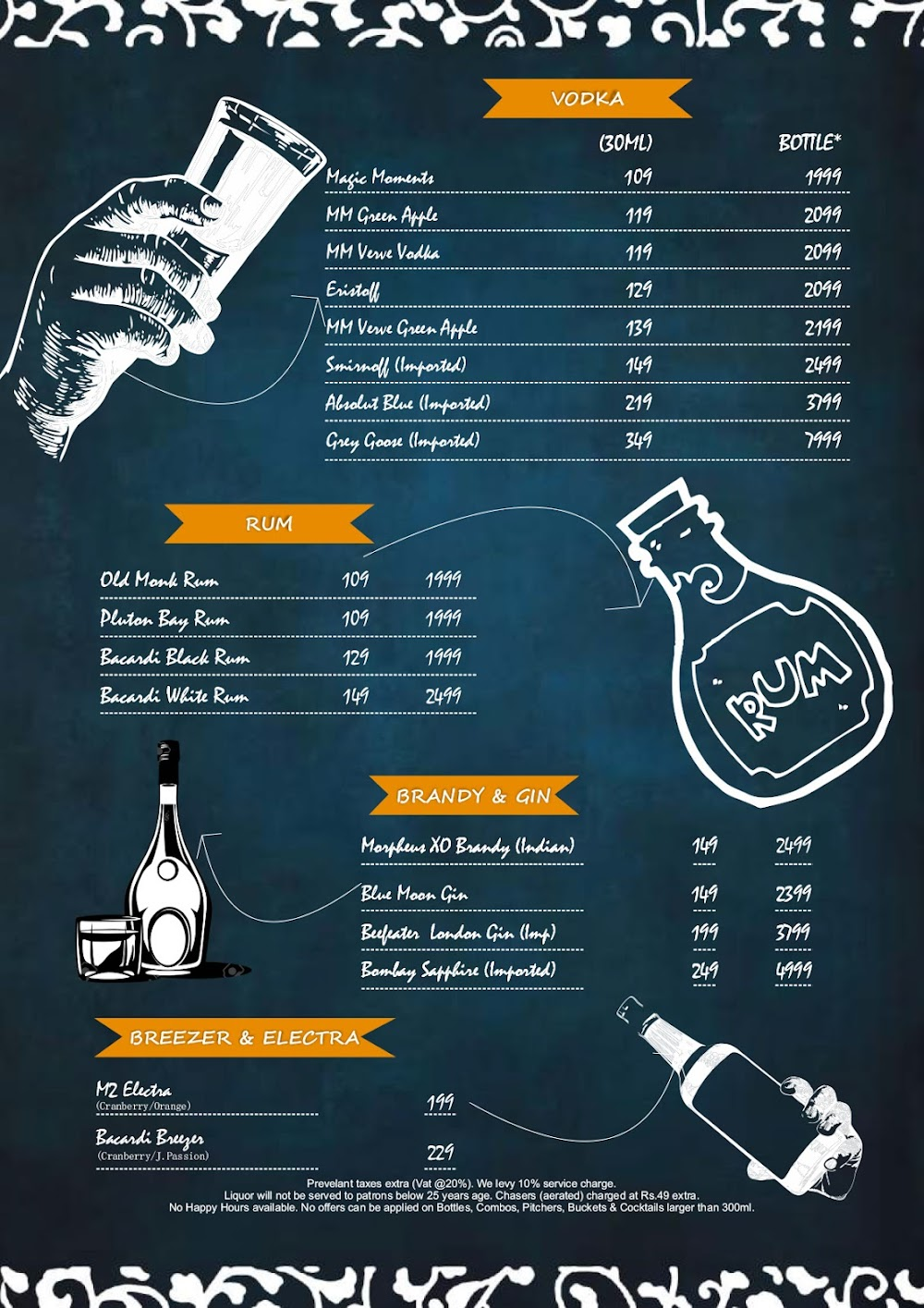 Chill'm Bar & Cafe menu 4