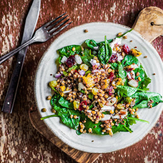 Quinoa, Spinach and Mango Salad