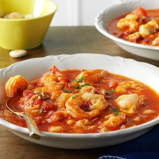 Seafood Cioppino.