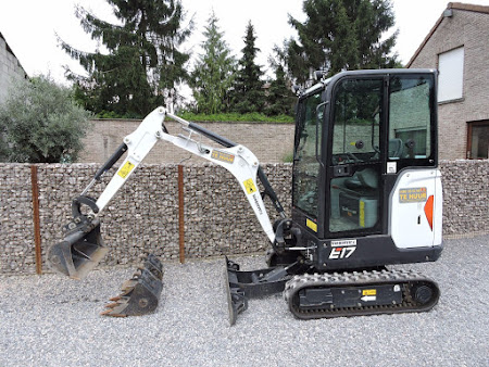 MINI-GRAAFMACHINE BOBCAT E 14 / E 17 1.5 TON