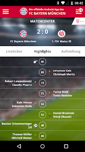 FC Bayern München – Miniaturansicht des Screenshots