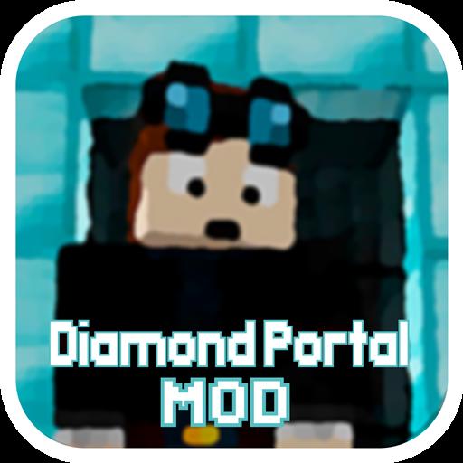 Mod Diamond Portal for MCPE