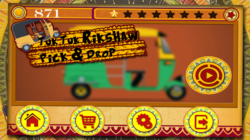 Tuk Tuk Rickshaw : Pick Drop