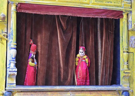 Le marionette di Luciano Fontebasso