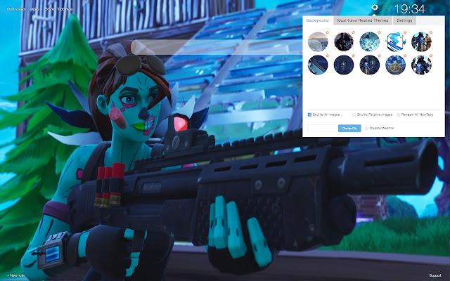 Ghoul Trooper Skin Fortnite Hd Wallpapers