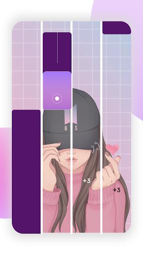 BTS Tiles: Kpop Magic Piano Tiles - Music Game apkmind screenshots 2