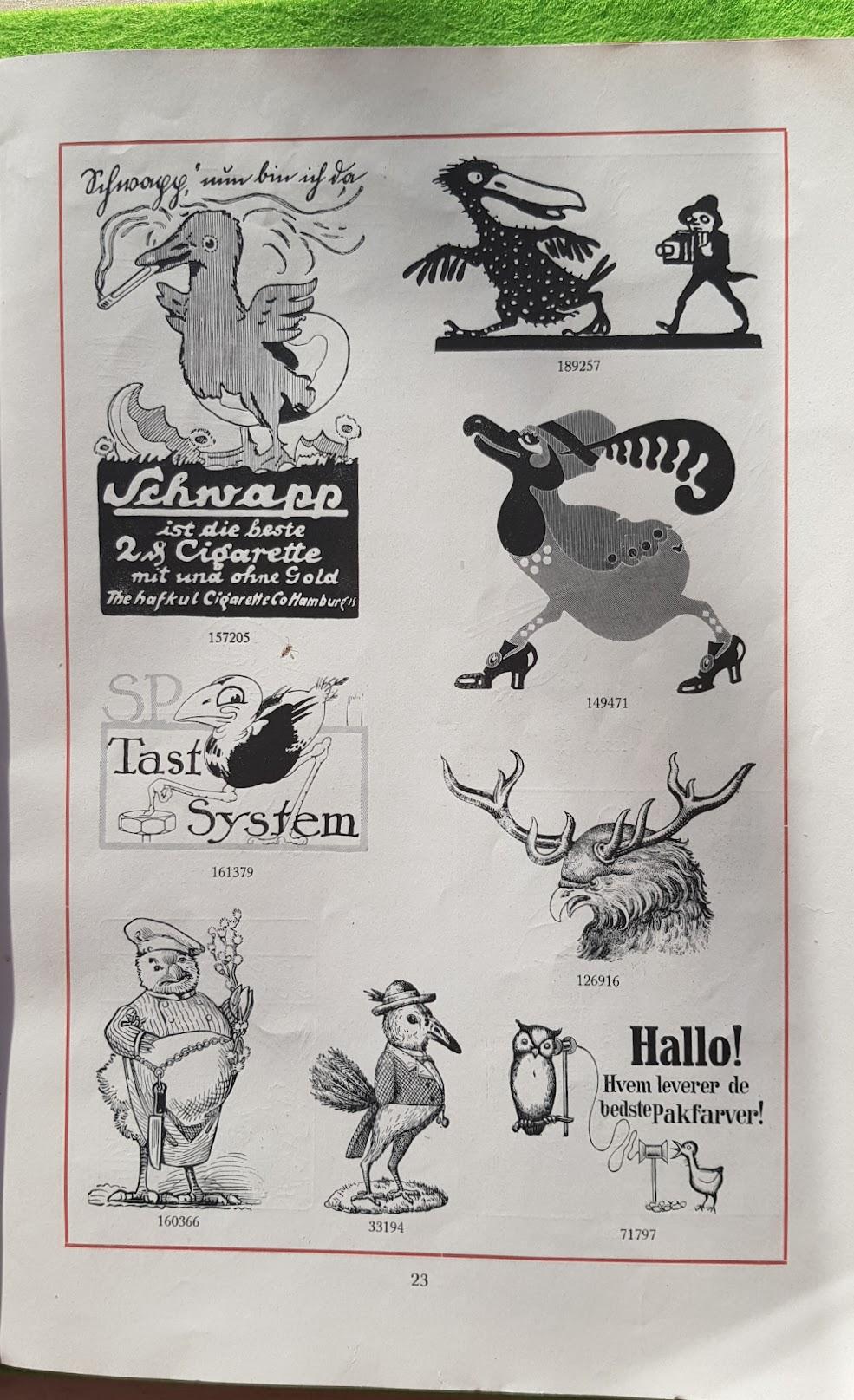 Warnezeichen-Humor - Darstellung der Waren in Anwendung auf Tiere