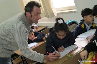 Photo: Observation de cours de français à l'école latine à Ramallah