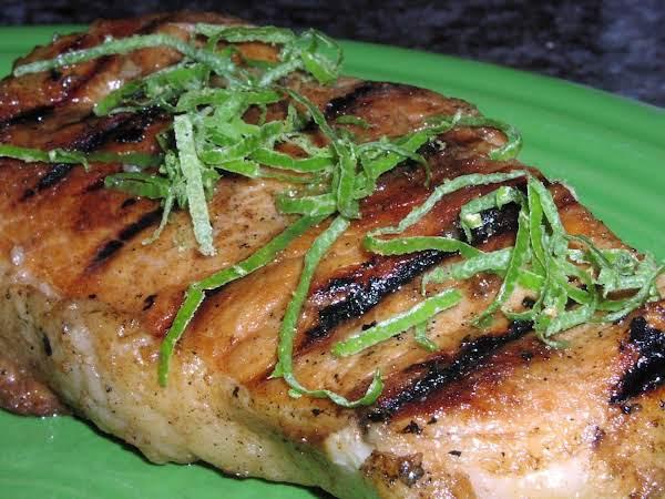 Tropical Pineapple & Lime Pork Chops Recipe