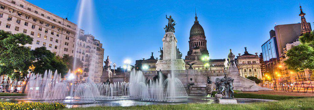 Congress square Buenos Aires