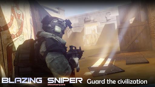 Blazing Sniper - offline shooting game 1.7.0 screenshots 8