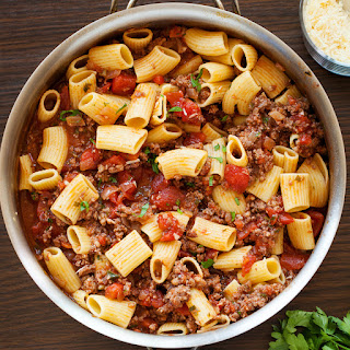 Italian Sausage Tomato Pasta Sauce.