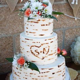 Wedding Cake by Shanna L Christensen - Wedding Details