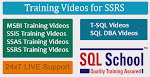 Project Oriented SSRS  Practical Video Training @ SQL School