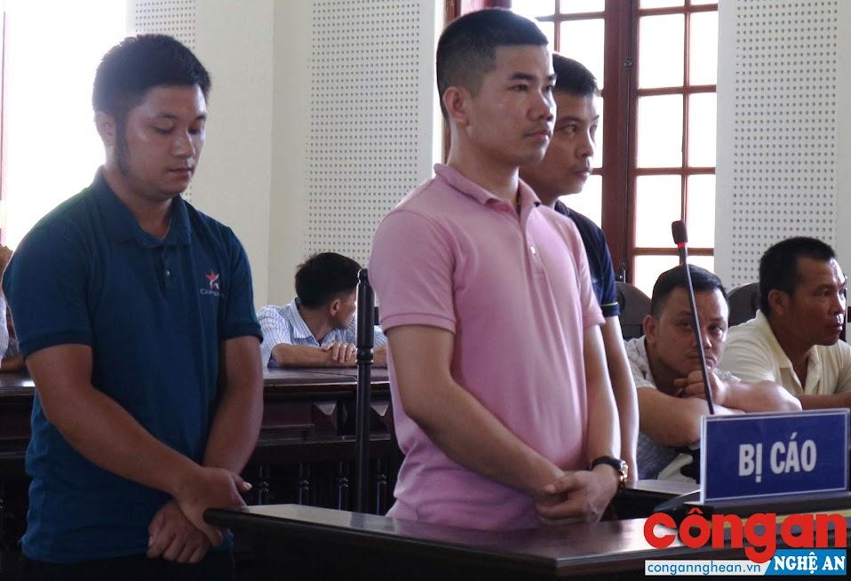 3 bị cáo tại tòa