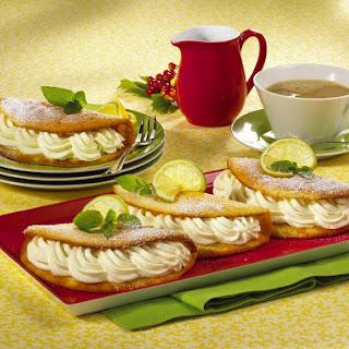 Sugar-free Sweet Lemon Omelettes.