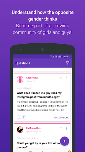 GirlsAskGuys 3.1.6 screenshots 1