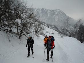Photo: in cammino al Rifugio Laus