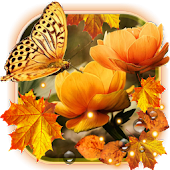 Flowers Autumn HD Live Wallpaper Android APK Download Free By SweetMood