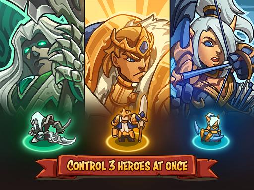 Empire Warriors TD: Defense Battle (Tower Defense) (Unreleased)  screenshots 1