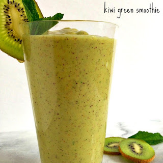 Kiwi Green Smoothie.