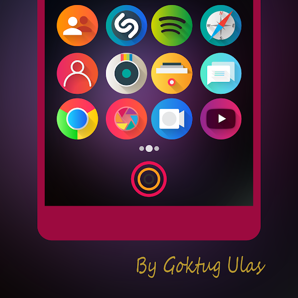 Graby Spin – Icon Pack v1.6