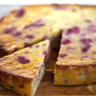 Mixed Berry and Ricotta Cake