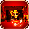 Winter Fireplace icon