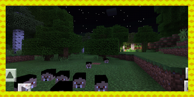 The Vampires. MCPE Addon - náhled