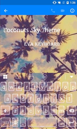 免費下載遊戲APP|Coconuts Sky Eva Keyboard app開箱文|APP開箱王