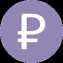 Верный курс - курс рубля icon
