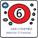 6合彩(Mark Six) :17注方程式 icon