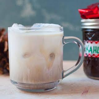 Homemade Kahlua.