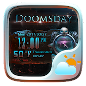 Doomsday Weather Widget Theme