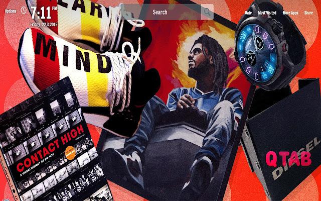 Rap New Tab Music Wallpapers