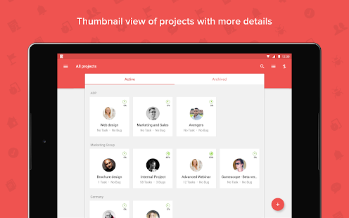 Zoho Projects: Tasks, Timesheets, and Bug Tracking- screenshot thumbnail
