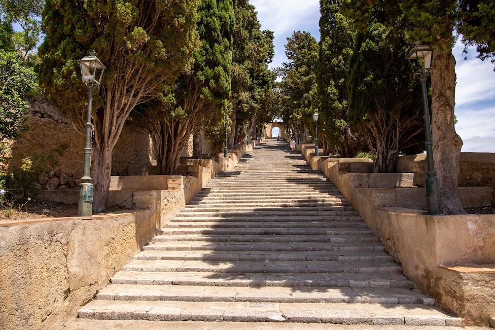 Arta, schody kalwaryjskie