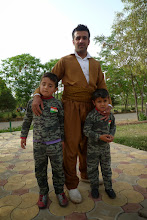 Photo: Father with his sons, Erbil 2015