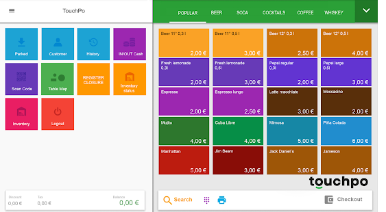 TouchPo Point of Sale Cash POS- screenshot thumbnail