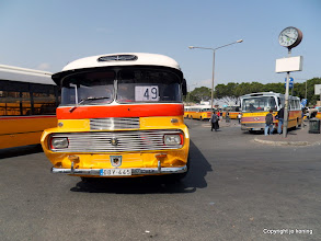 Photo: Floriana. Bus terminus.  http://www.loki-travels.eu/
