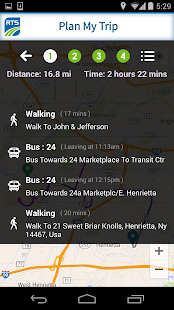 RIT Bus App- screenshot thumbnail